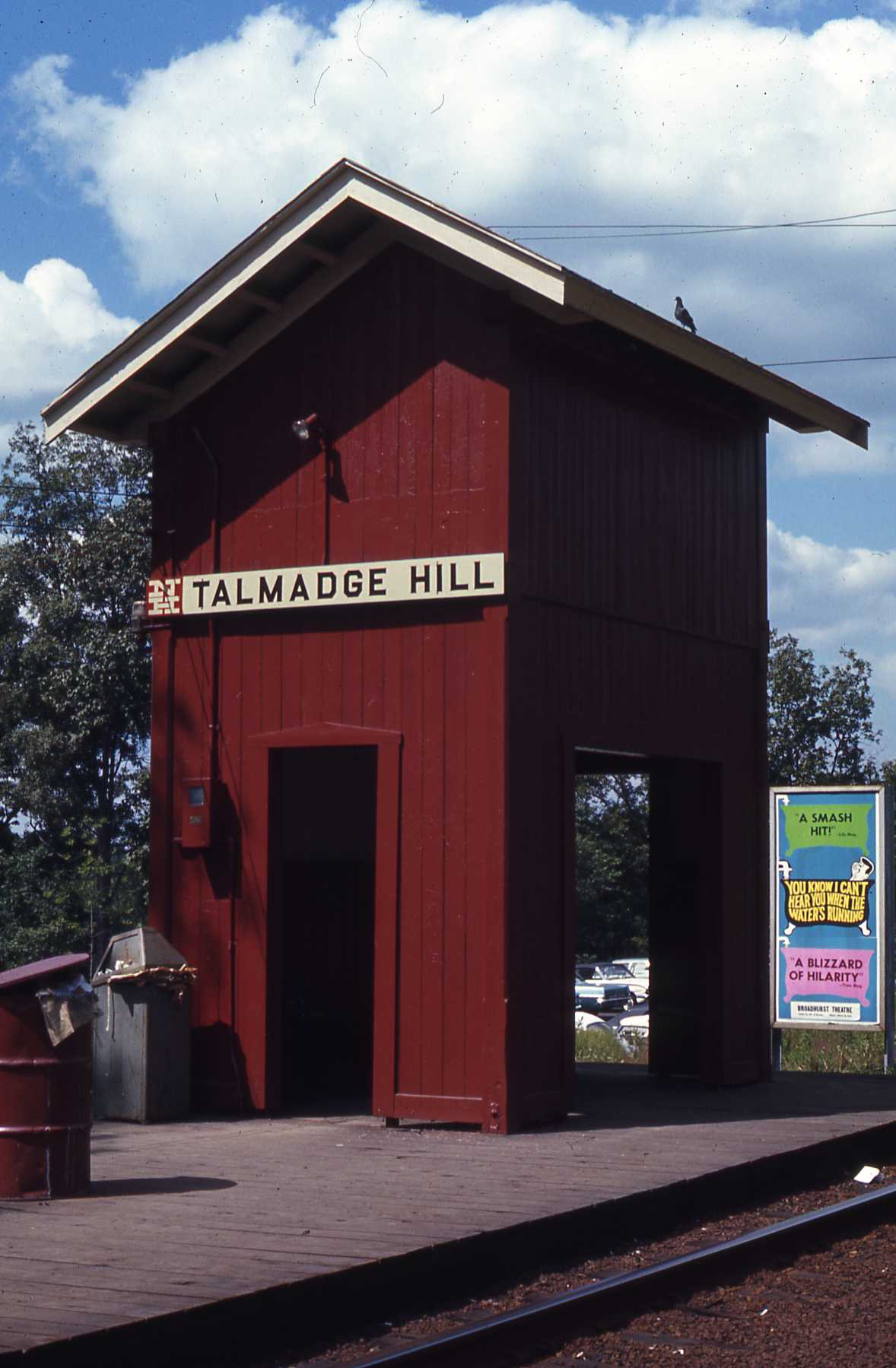 Talmadge Hill Station - New Canaan, Connecticut - 1968