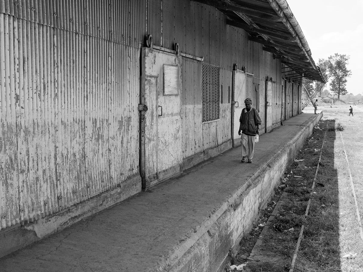 Railroad station, Arusha, Tanzania