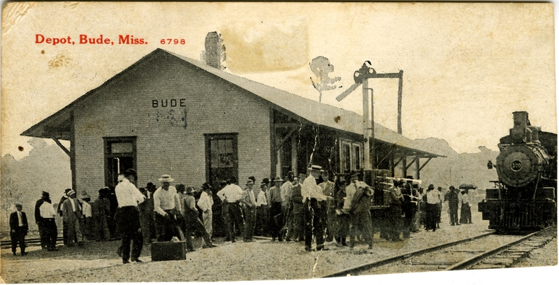 From Depot, Bude, Miss. Sysid 92294. Scanned as tiff in 2008/11/03 by MDAH. Credit: Courtesy of the Mississippi Department of Archives and History