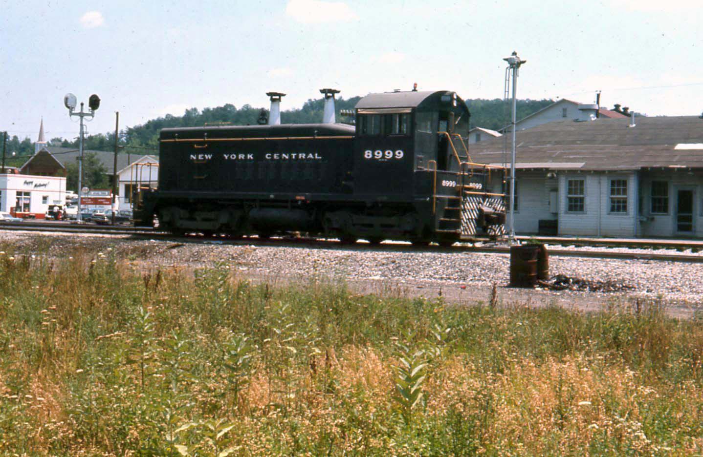 New York Central SW-9 #8999 - Nitro, West Virginia - 1966
