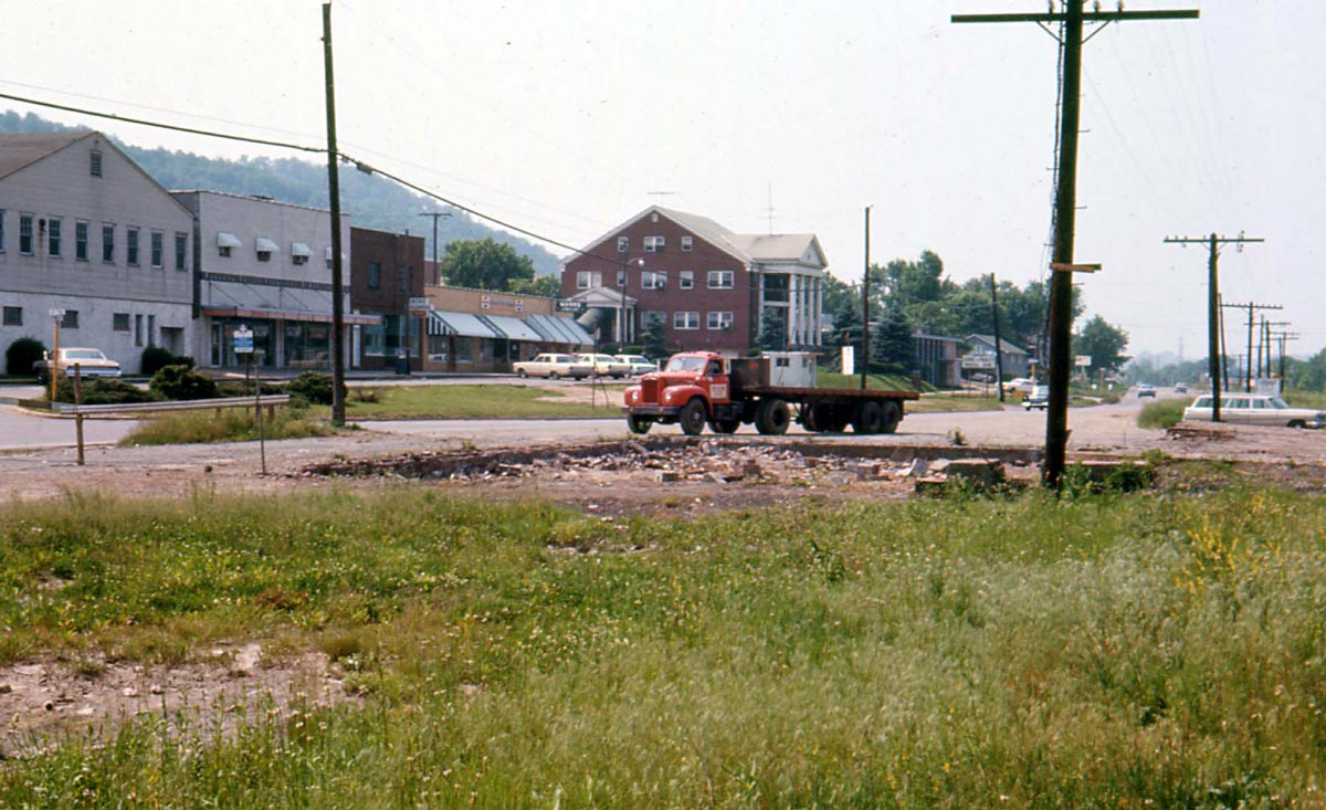 Old Depot removed - Nitro, West Virginia - 1967