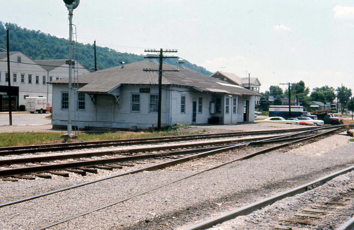 Old Depot - Nitro, West Virginia - 1966