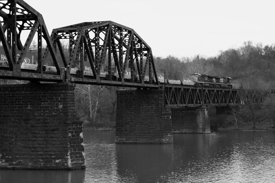 The Pinkerton Landing Bridge
