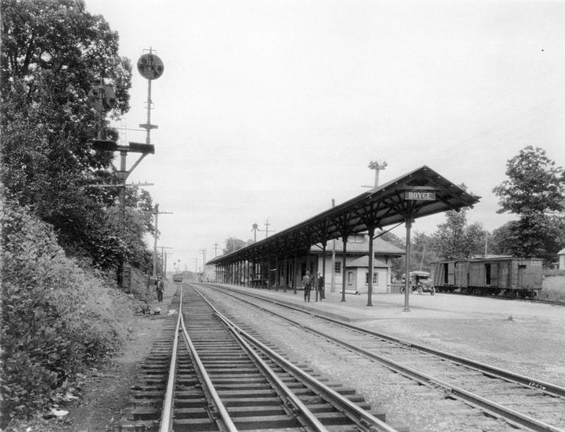 Railroad Town: <br/> Boyce, Virginia