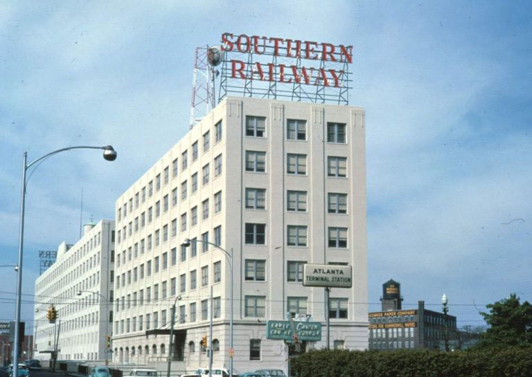 A Brief History of <br/> Southern Railway's <br/> Atlanta Office Building
